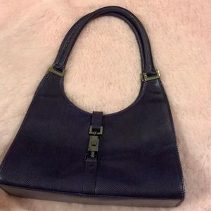 Gucci Leather Jacki O Shoulder Bag